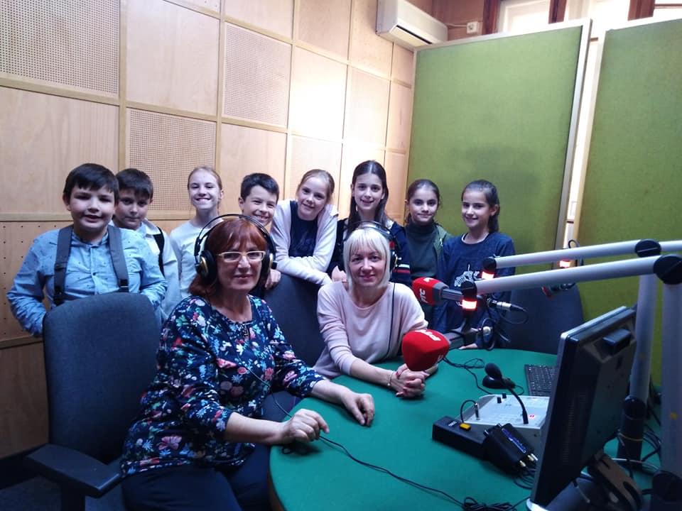 Gostovanje na Radio Beogradu, emisija Veceras zajedno, sa Draganom Zivojinovic, april, 2019.
